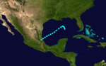 1924 Atlantic tropical storm 9 track.png