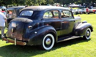 Chevrolet Master - 1939 Master Deluxe Town Sedan
