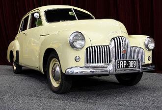 Holden 48-215 - Image: 1949 Holden 48 215 sedan 01