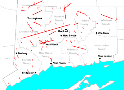 List Of Connecticut Tornadoes Wikipedia