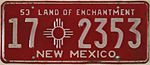 1953 New Mexico License Plate.jpg