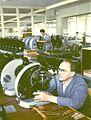 1955 Photomicroscope Production at Winkel-Zeiss in Goettingen (7039029511).jpg