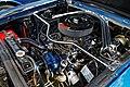 1965 Ford Mustang 4700cc engine bay at Hatfield Heath Festival 2017 2.jpg