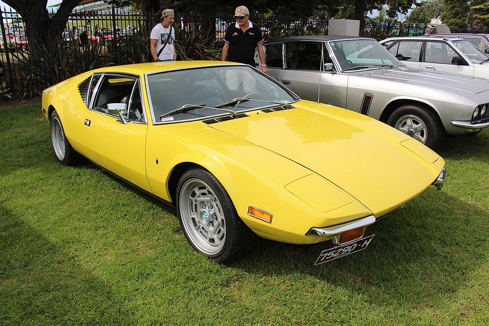 1971 DeTomaso Pantera Coupe (32777492292)