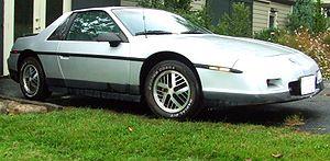 Pontiac Fiero - 1986 Fiero SE 2M6