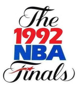 1992 NBA Finals - Image: 1992NBAFinals