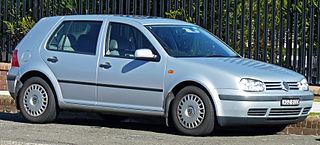 Volkswagen Golf Mk4 Fourth generation of the Volkswagen Golf