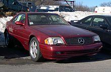 1998 2001 Mercedes Benz Sl 500