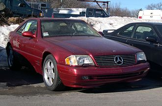 Mercedes-Benz SL-Class (R129) - 1998–2001 Mercedes-Benz SL 500