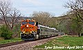 1 2 BNSF 8080 Leads WB Officers Special Shawnee, KS 4-12-17 (34020615185).jpg