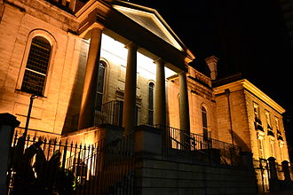 Sydney Grammar School - Sydney Grammar School at night