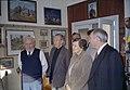 2001-05-25 Artist visit Volodymyr Sawchak's home.jpg