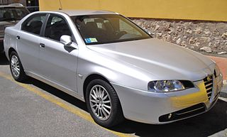 Alfa Romeo 166 Executive car produced by Alfa Romeo