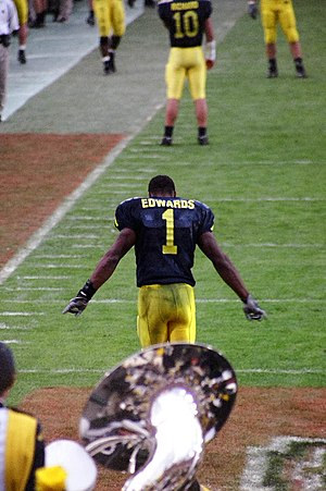 2005 Rose Bowl - Braylon Edwards caught three touchdown receptions.