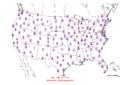 2006-01-11 Max-min Temperature Map NOAA.png