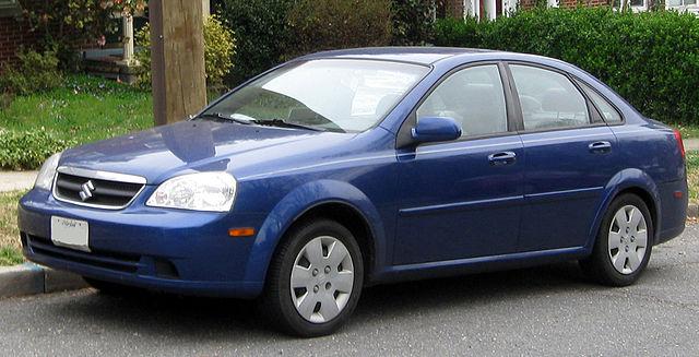 Suzuki Forenza Door Handle Recall