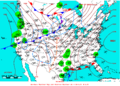 2007-01-04 Surface Weather Map NOAA.png