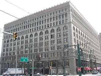 Ellicott Square Building - Image: 20080228 Ellicott Square Building (2)