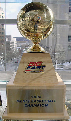 Big East Men's Basketball Tournament - Image: 2008BEMenstourneytro phy