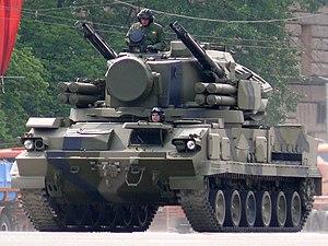 "2K22 Tunguska - 9K22 ""Tunguska-M"" Gun/Missile Air Defence System."