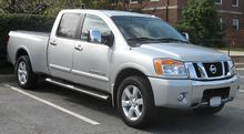 2008 Nissan Titan Crew Cab Long Bed