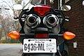 2008 Yamaha FZ6 rear with North Carolina 30-day tag.jpg