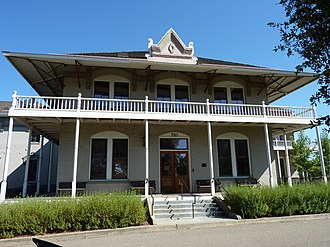 National Register of Historic Places listings in Amador County, California - Image: 2009 0724 CA Jackson AC Hospital