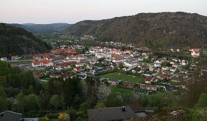 Vigeland, Norway - Image: 20090430 2058 09 Vigeland