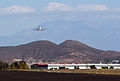2010-11-06 Bombardier Challenger 300 On-approach.JPG