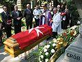 2010.07.16. Cracow Rakowicki Cemetery Zygmunt Michalowski's funeral 02.JPG