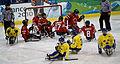 2010ParalympicsCanadaVsSwedenIceSledgeHockey.jpg