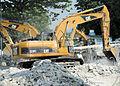 2010 - Heavy equipment in Haiti.jpg