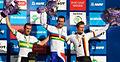 2011 Road World Championships Mens road race podium.jpg