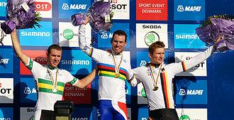 2011 UCI Road World Championships - Podium men's road race