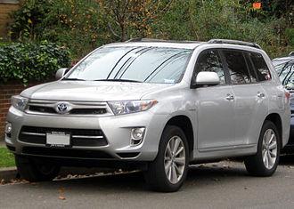 Hybrid electric vehicle - The Toyota Highlander Hybrid has a series-parallel drivetrain.