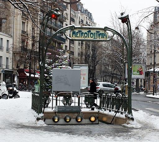 20130119 - Paris - métro Gambetta 02