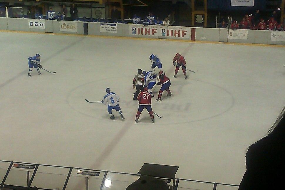 2014 IIHF World Championship Division II Serbia - Israel (11)