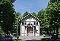 2014 Kłodzko, cmentarz komunalny, kaplica 01.jpg