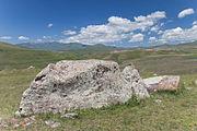 2014 Prowincja Sjunik, Zorac Karer, Prehistoryczny kompleks megalityczny (051).jpg