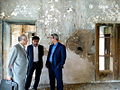 2015-06-28 Muzaffari,Governor of Nishapur visiting Qurayshi old mansion.jpg