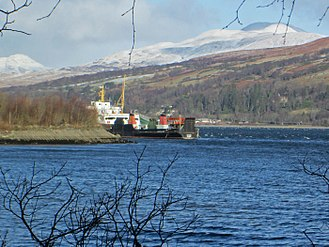 MV Saturn - Saturn in January 2015, laid up at Rosneath