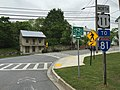 2016-05-05 11 25 19 View north along U.S. Route 11 as it turns from North Commerce Street onto West Potomac Street in Williamsport, Washington County, Maryland.jpg