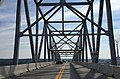 2016-07-22 10 45 59 View north along U.S. Route 301 (Governor Harry W. Nice Memorial Bridge) crossing the Potomac River from King George County, Virginia to Charles County, Maryland.jpg