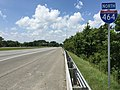 2017-07-13 13 51 14 View north along Interstate 464 between Exit 2 (U.S. Route 13-Military Highway) and Exit 3 (Freeman Avenue, To U.S. Route 460 and Virginia State Route 166) in Chesapeake, Virginia.jpg