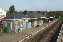 2017 at Chepstow station - platform 2 from south.JPG