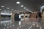 201801 Middle Platform at Hongqiao Airport Terminal 2 Station.jpg