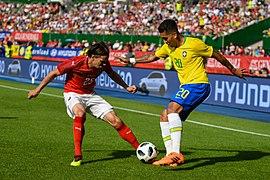 20180610 FIFA Friendly Match Austria vs. Brazil Hierländer Firmino 850 0108.jpg