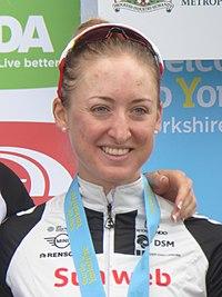 2018 Women's Tour de Yorkshire - Leah Kirchmann.jpg