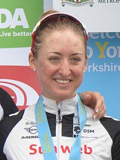 Leah Kirchmann Canadian cyclist