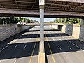 2019-09-08 11 30 02 View south along U.S. Route 29 (Lee Highway) from the overpass for the ramps from and to northbound Virginia State Route 286 in Fair Lakes, Fairfax County, Virginia.jpg